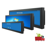 Bar Type Display and Panel PC