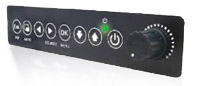 Compact & User-friendly Front Panel Control