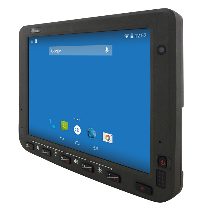 10.4-inch Android Vehicle Mounted Computer FM10A Angle View No Dock